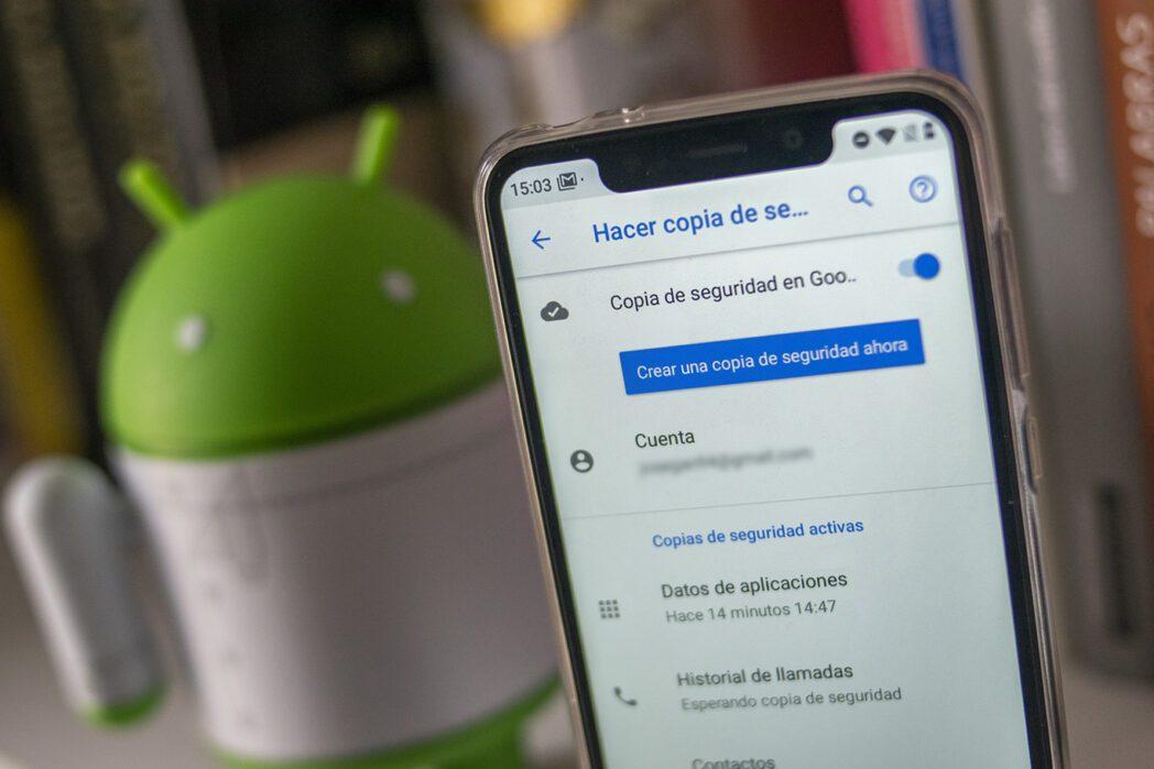 transfiere datos automaticamente de un telefono movil android a otro