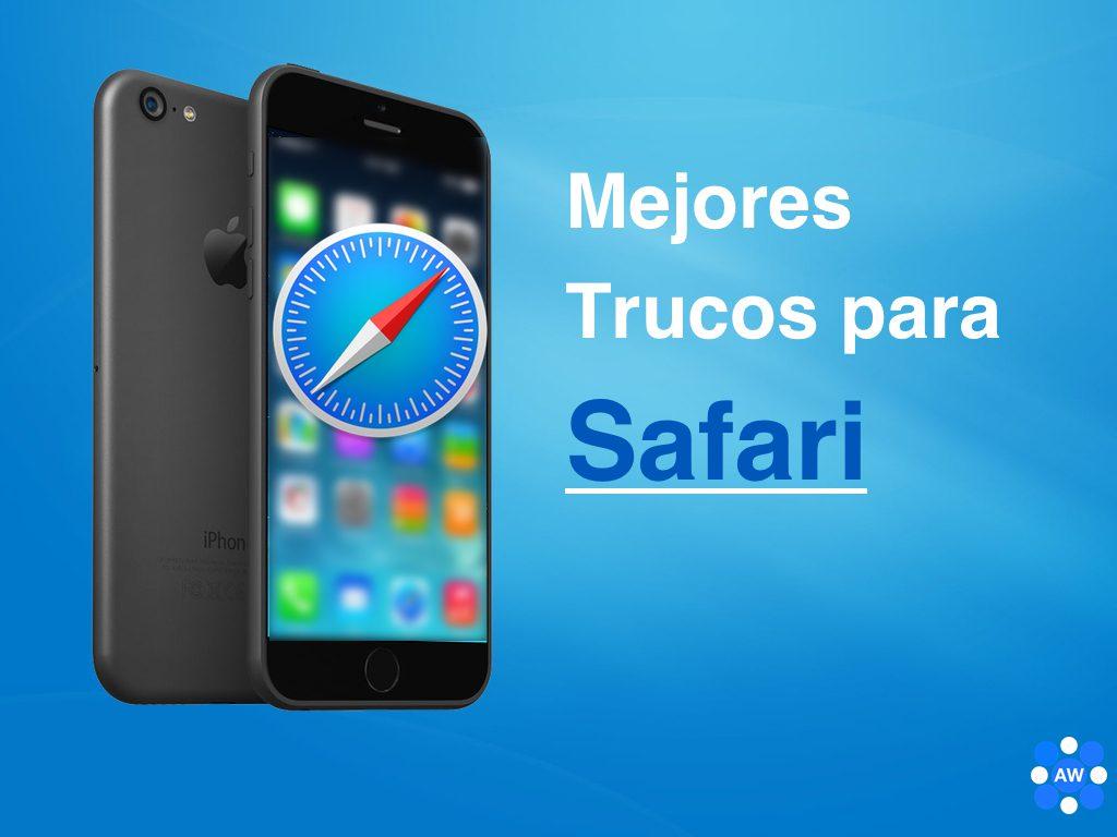 trucos de safari y funciones mejoradas del navegador de iphone y ipad