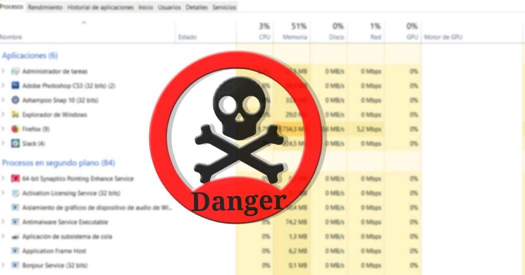 verifique si los procesos en windows son seguros o peligrosos
