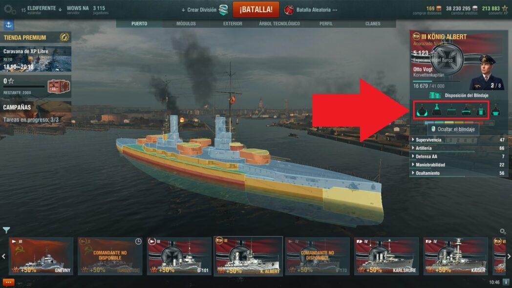 world of warships guias y consejos sobre el sistema de gestion de barcos